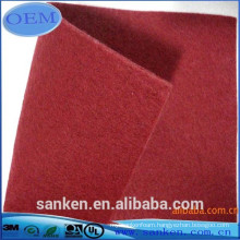 100 polyester non woven fabric for car carpet